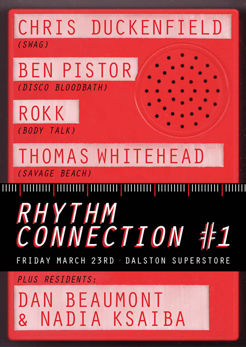 Rhythm Connection Flyer