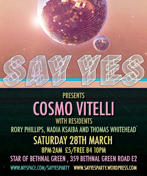 Say Yes Flyer